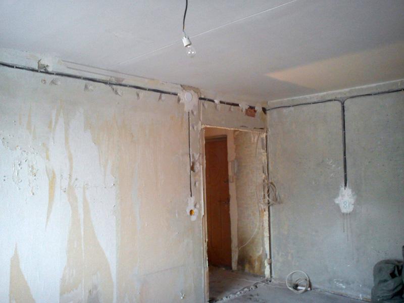 Проводка в квартире в панельном доме своими руками